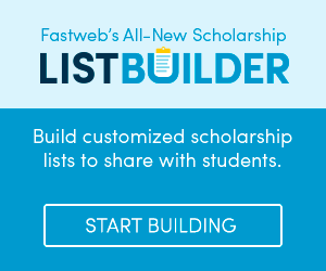 Fastweb Scholarship List Builder