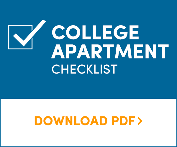 College Apartment Checklist: Download PDF