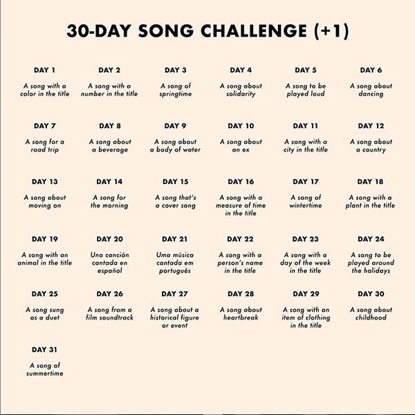 Instagram Music Challenge