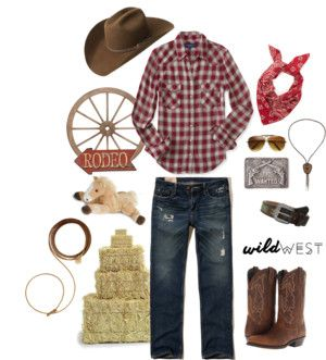 Cowboy or Cowgirl Costume