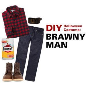 Brawny Man Halloween Costume