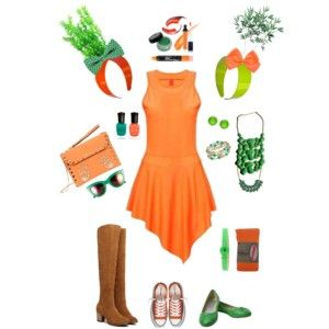 Cute Carrot Halloween Costume