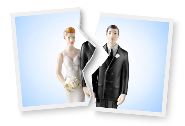 How does divorce affect eligibility for student financial aid?