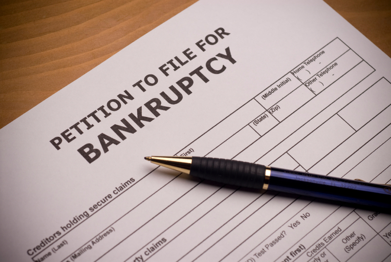 listing household items for bankruptcy