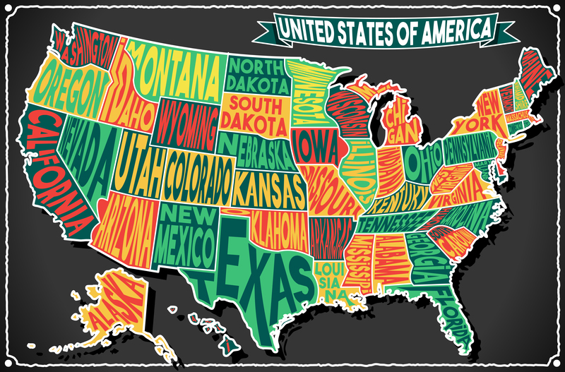 The Best College In Every State Fastweb - Best map in the us