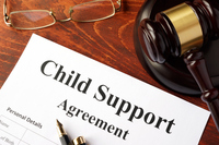 When must a Non-Custodial Parent Count a Child in Household Size?