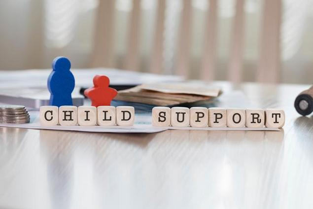 How does child support affect eligibility for student aid?